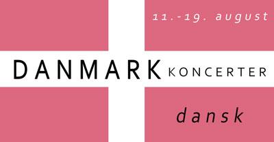 Danmark koncerter button