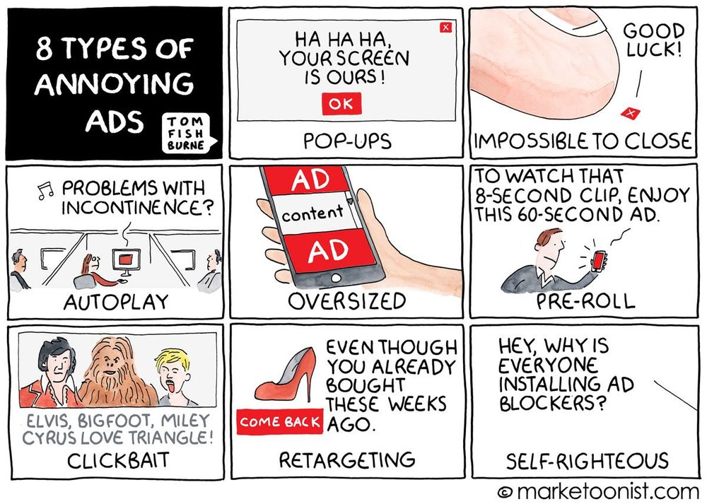 annoying digital marketing ads