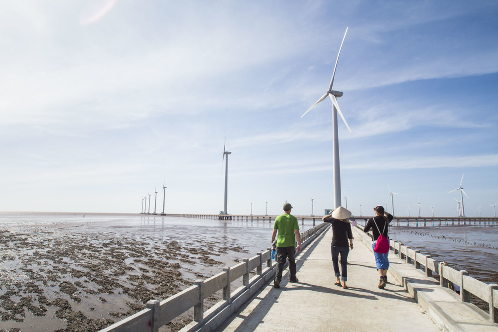 The Bac Lieu offshore wind farm offsets a total of 151,331 tons of CO2 emissions each year.