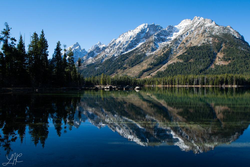 Part of the Teton Range, Grand Teton National Park