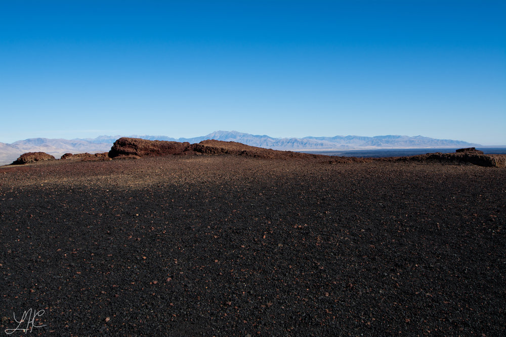Top of a Cinder Cone, Craters of the Moon National Monument