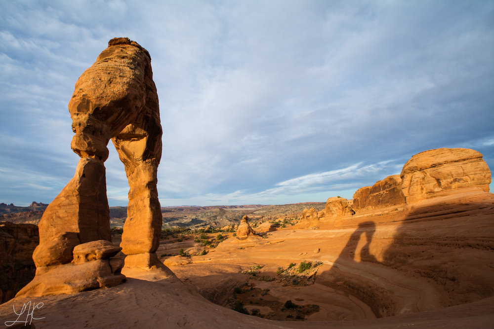 Sunrise at Delicate Arch, Arches National Park