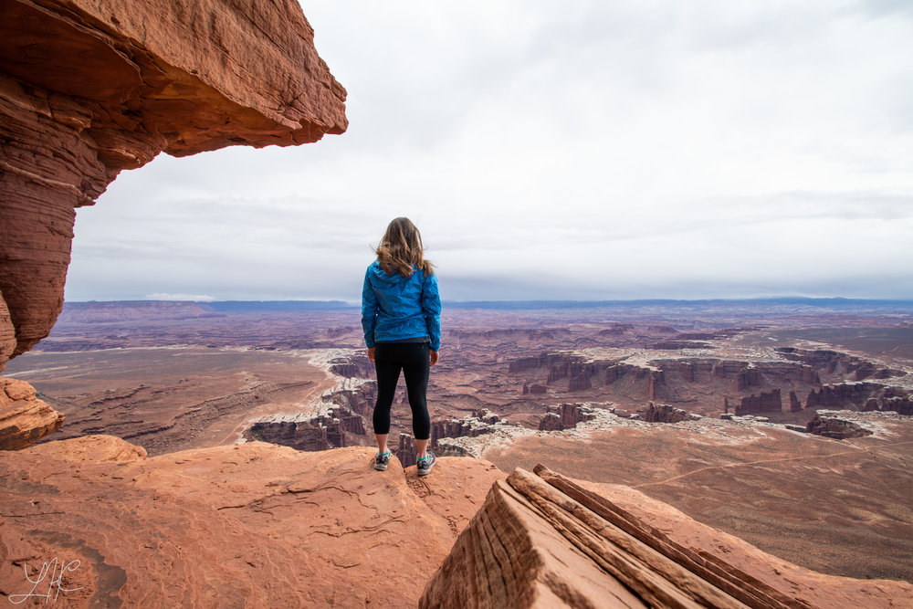 Self Portrait, Island of the Sky District, Canyonlands National Park