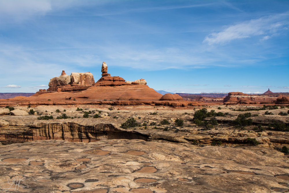 Hiking in the Needles District, Canyonlands National Park