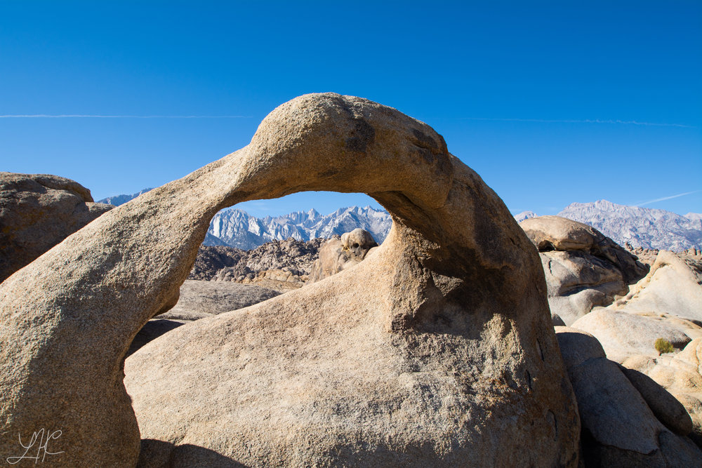 Alabama Hills Arch Framing Mount Whitney, which I climbed as a last hurrah of the trip!