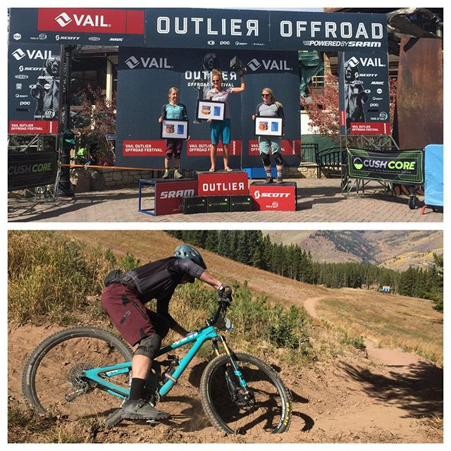 You may not notice them from our Kickstarter video (link in profile) but our Chief Stoke Officer Hailee took 1st at the #vailoutlier enduro and Biz Dev Ernest took a top 10 finish. Needless to say, we love riding bikes. • • • #bikelights #mtb #nightriding #startuplife #mysticdevices #exploretheunknown #kickstarter #kickstartercampaign @yeticycles @srammtb @thecycleeffect @outliervail @cushcore @scott_bikes_official
