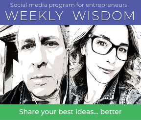 Motivate employees. Engage customers. Gain perspective on your goals and actions. You can accomplish all of these through our Weekly Wisdom program.