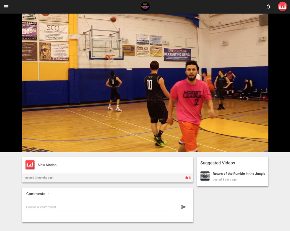 Video Page (Web)