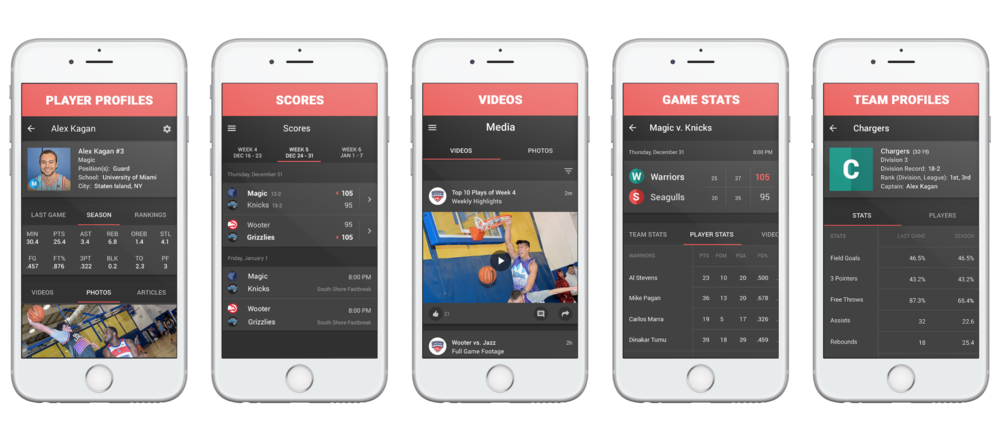 Custom Wooter White Label App for Sports Organizations