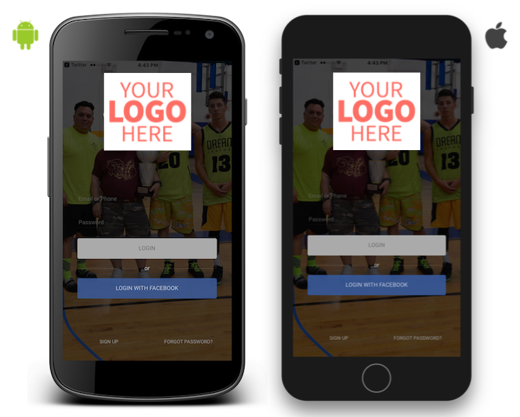 Custom iOS & Android App for your Sports Organization!