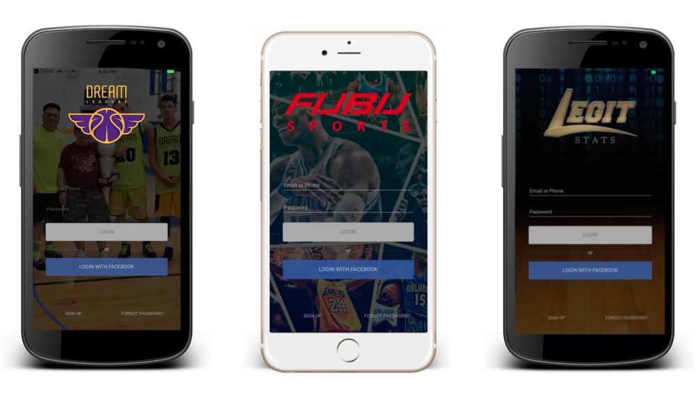 Beautiful Custom Apps from Wooter for your Sports Organization