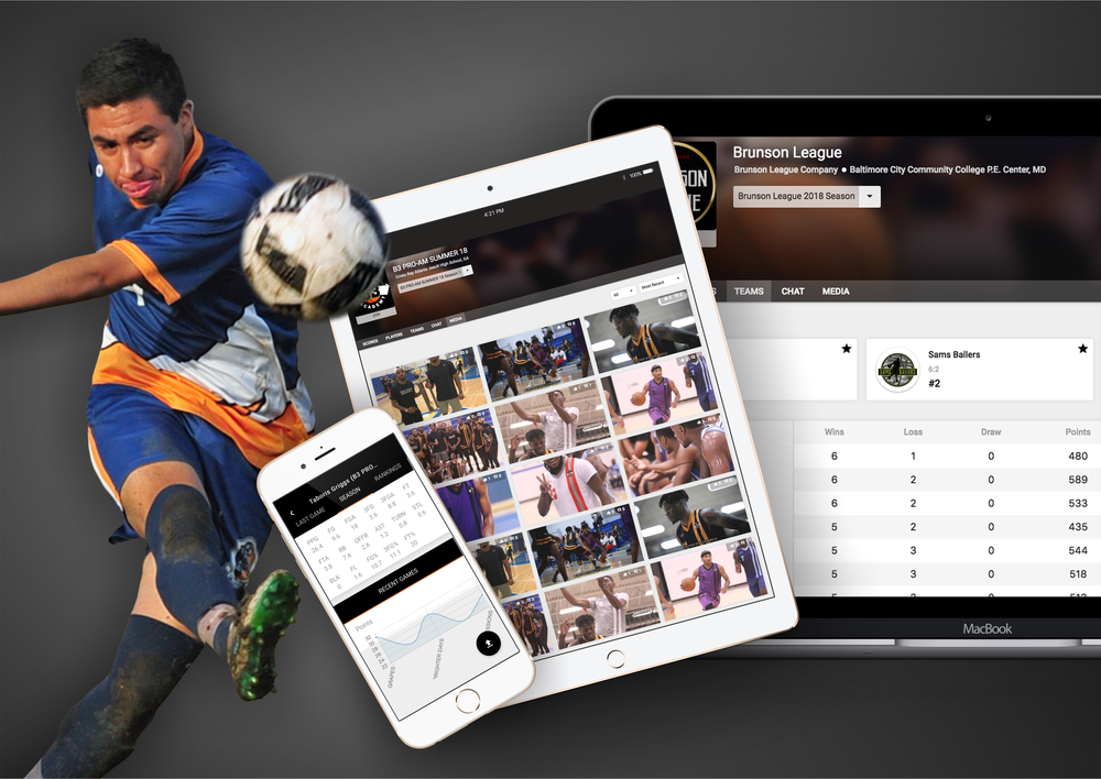 ⚽ Soccer - Wooter makes it simple for you to manage and display your Soccer league, team or tournament on your own app & website - all from one place!