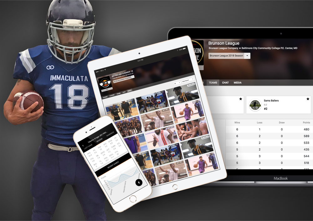 🏈 Football - Wooter makes it simple for you to manage and display your Football league, team or tournament on your own app & website - all from one place!