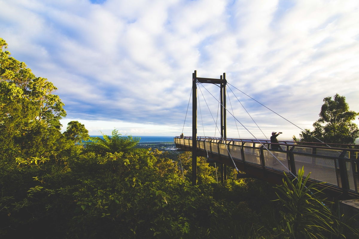 The Sealy Lookout in Coffs Harbour. Photo: Marine Raynard
