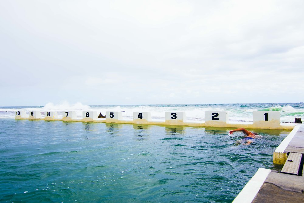 Merewether Baths. Photo: Marine Raynard
