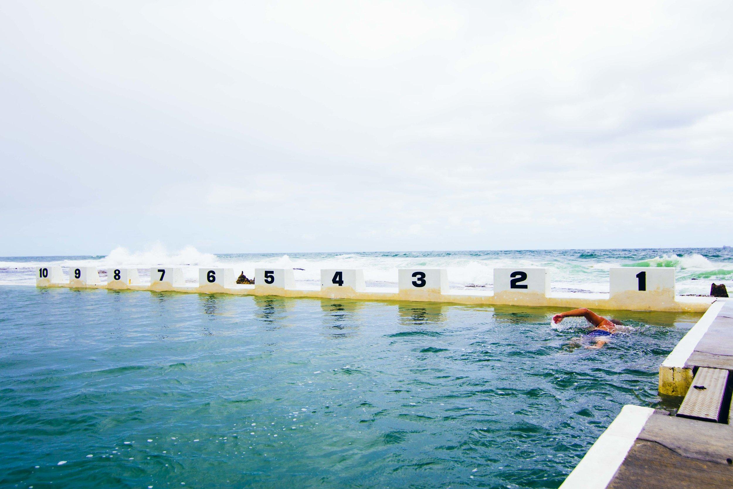 Merewether Baths. Photo: Marine Raynard