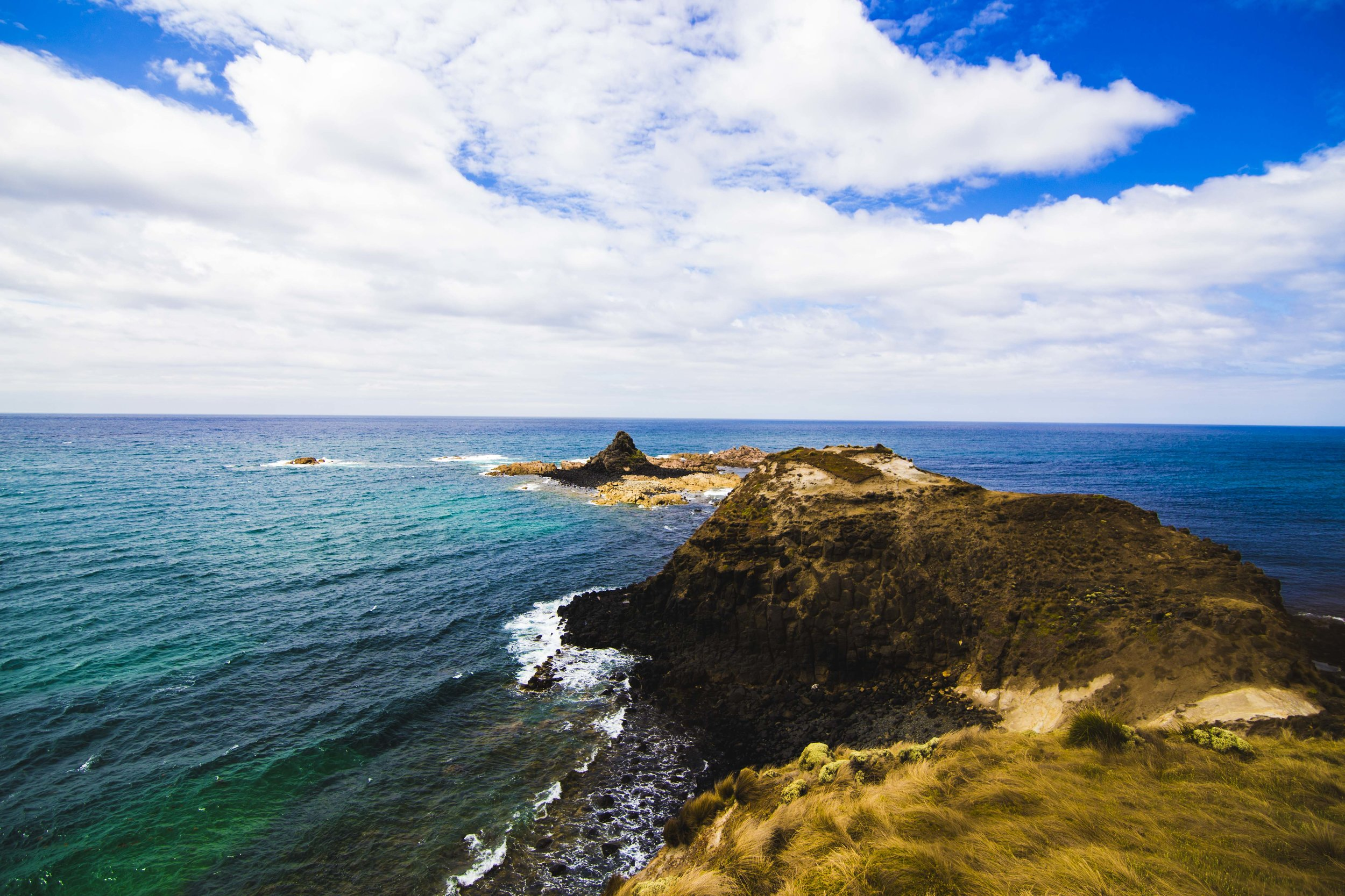 Pyramid Rock in Phillip Island. Photo: Marine Raynard