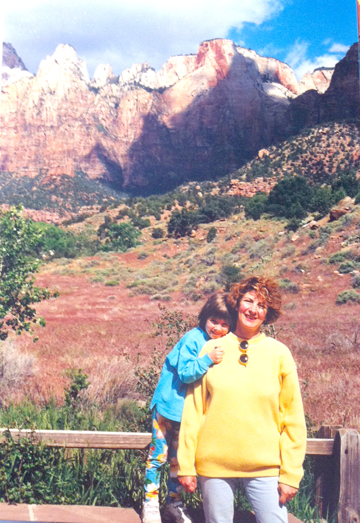 Discovering the USA for the first time when I was 4 years old with my parents