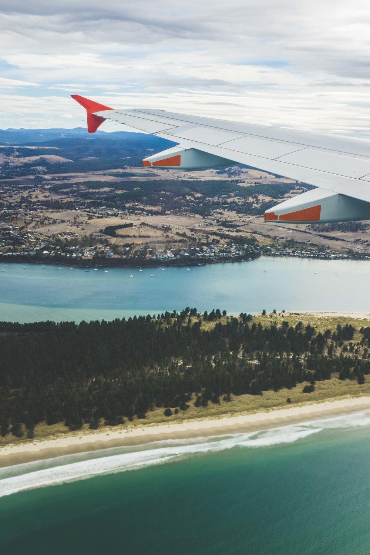 Arriving in Tasmania. Photo: Marine Raynard