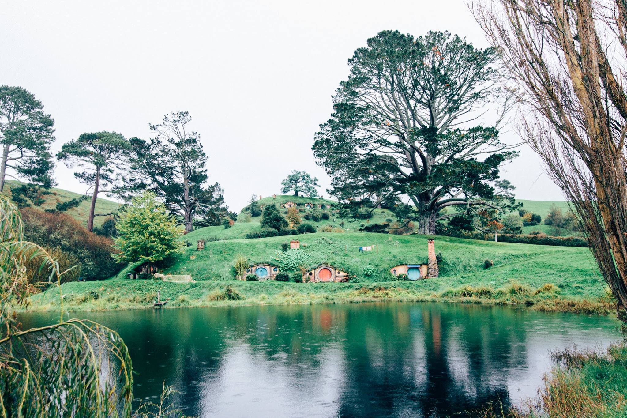 So beautiful Hobbiton! Photo: Marine Raynard