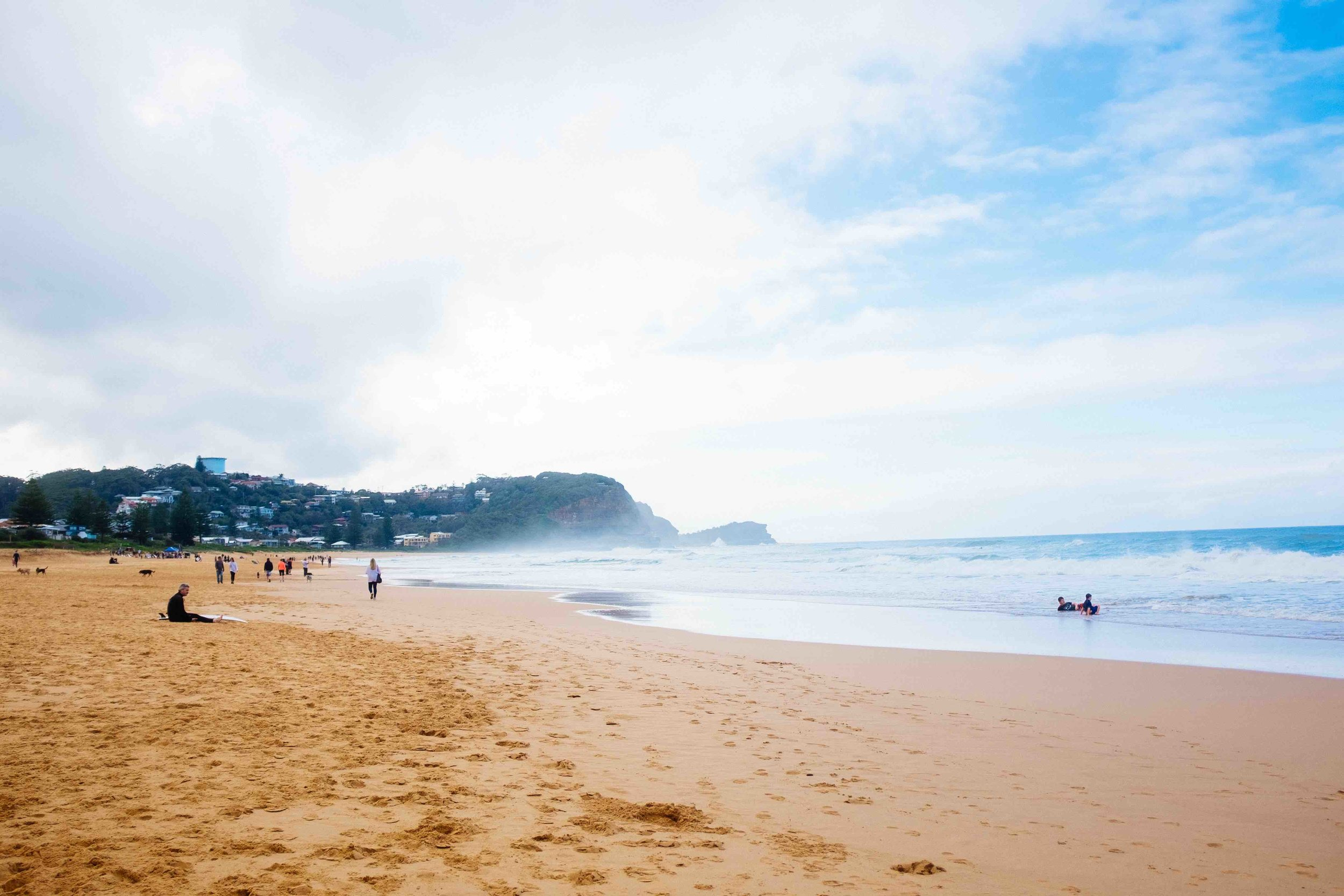 Beautiful Avoca Beach in Central Coast. Photo: Marine Raynard