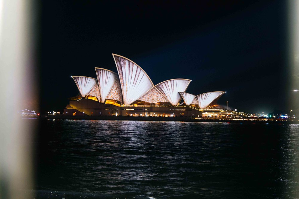 The Opera House illuminated at Vivid Sydney 2016. Photo: Marine Raynard