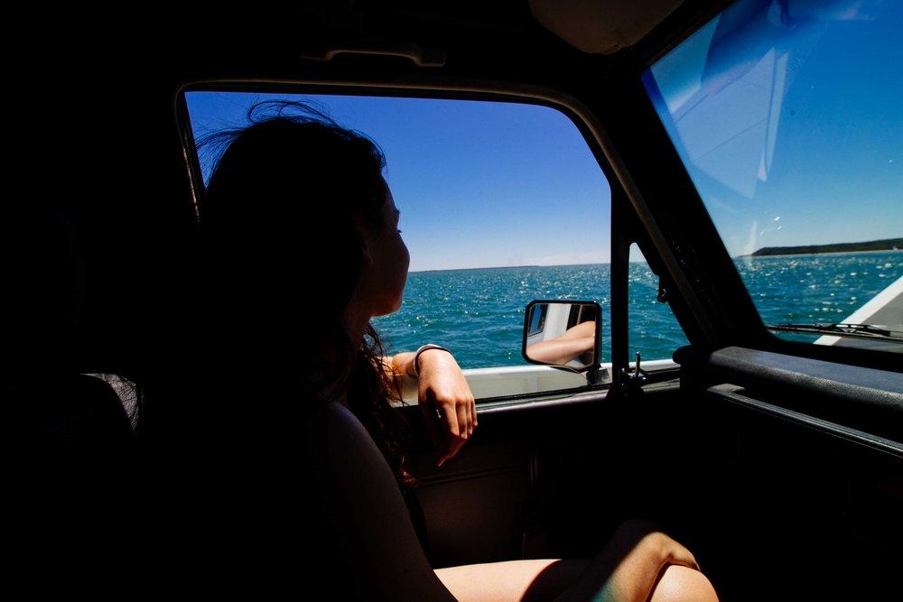 fraser island transportation