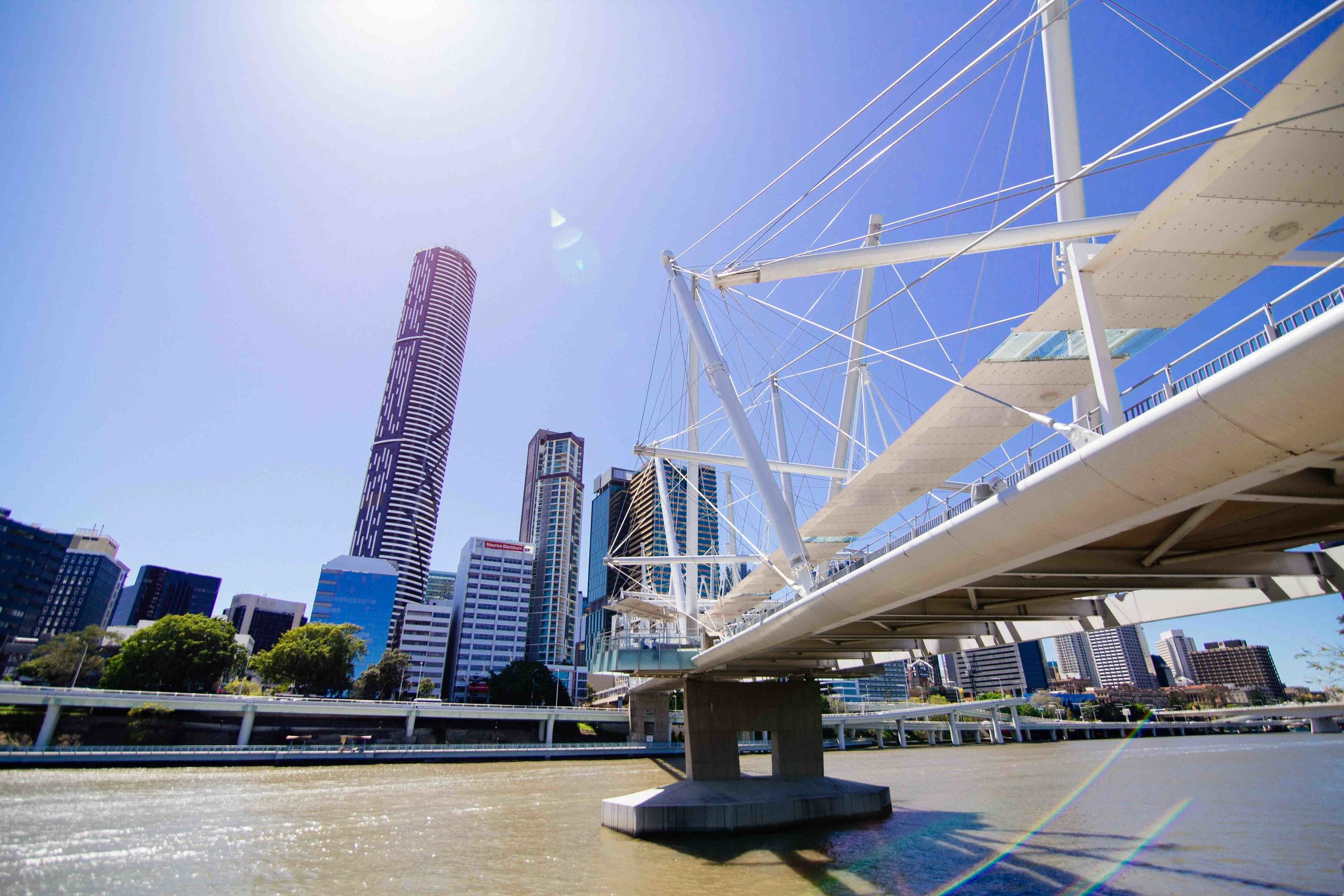 Brisbane city view