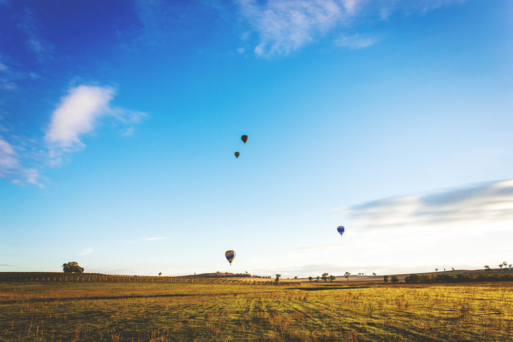 Canowindra - Mini-escape to the countryside with hot air balloons