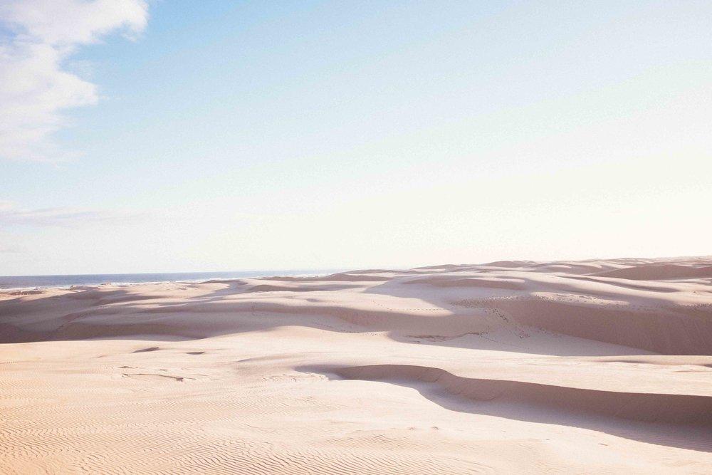 Stockton Sand Dunes - Dreamy landscape + astrophotography