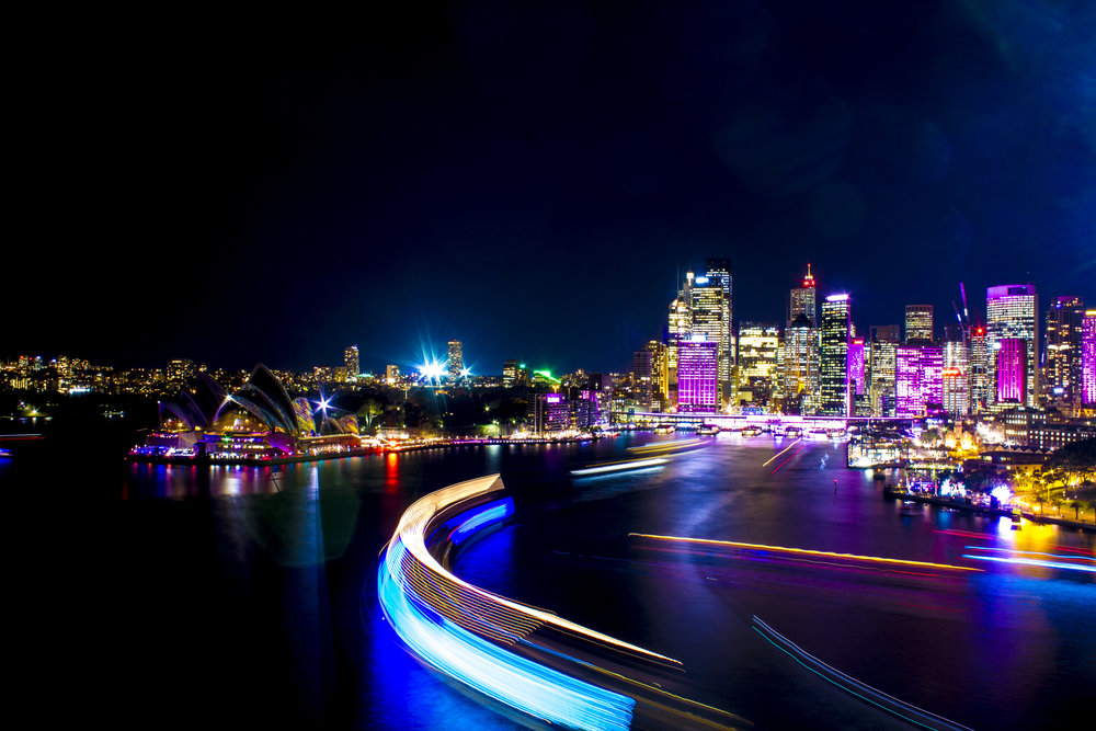 2015 VIVID SYDNEY - My very first attempt at Vivid Sydney