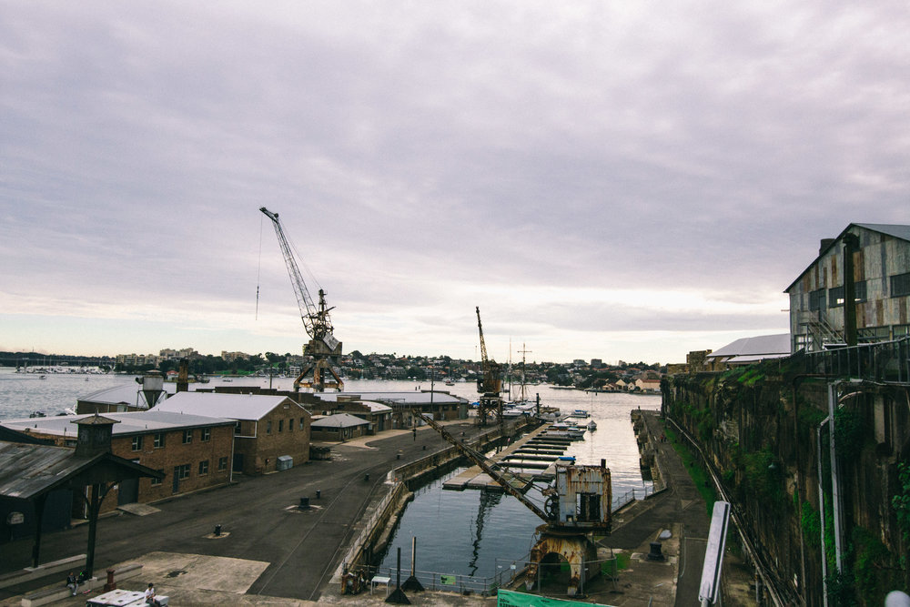 COckatoo Island - A little hidden gem in the heart of the harbour