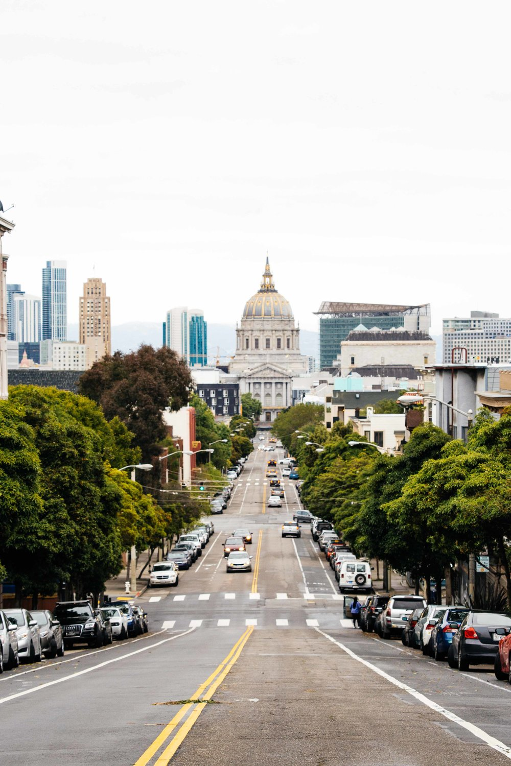 One of San Francisco's streets. Photo: Marine Raynard