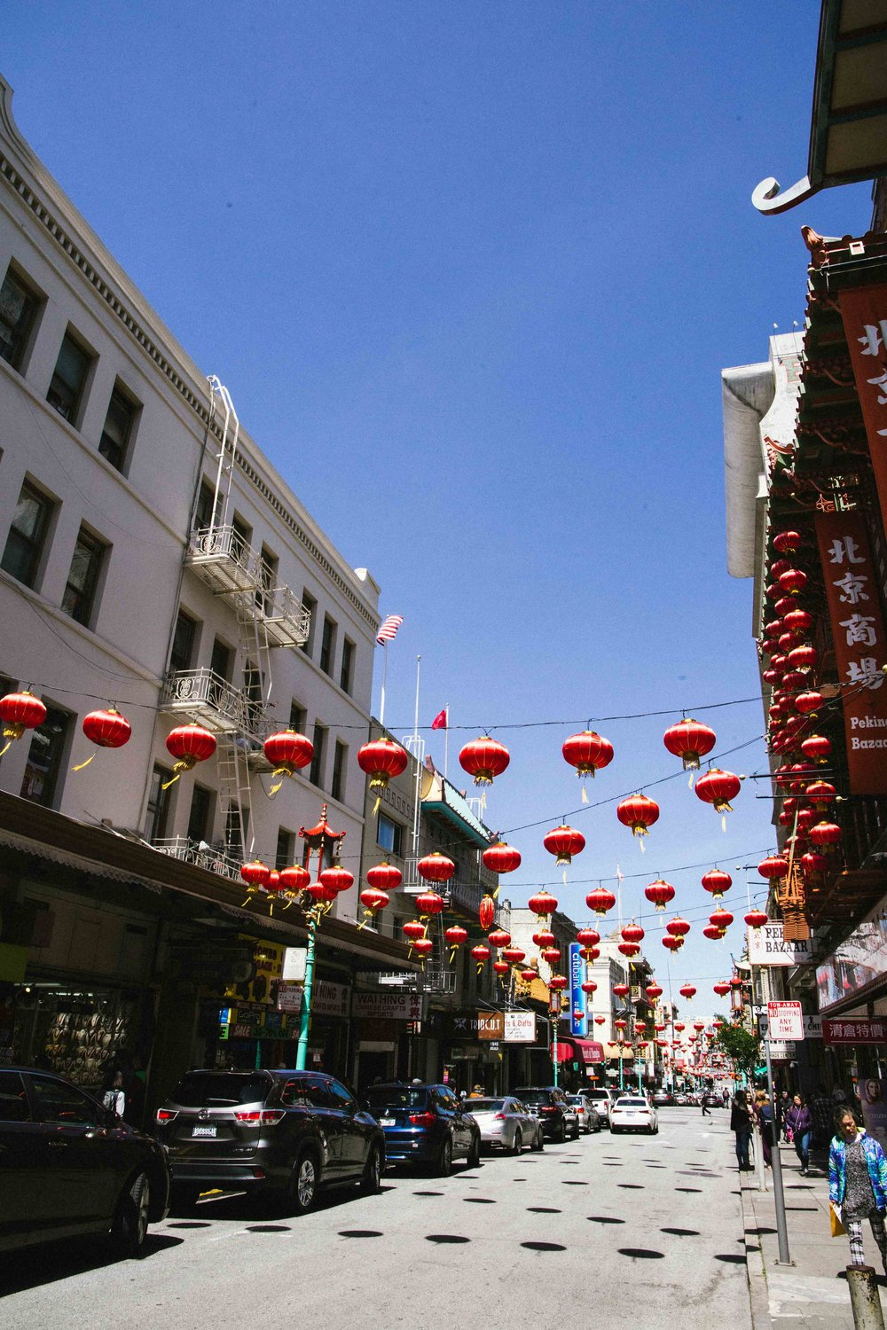 Chinatown in San Francisco. Photo: Marine Raynard