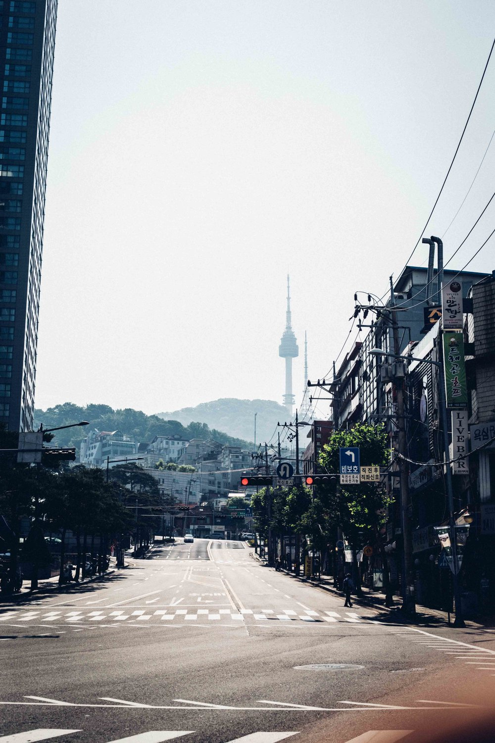 One of the street in Seoul
