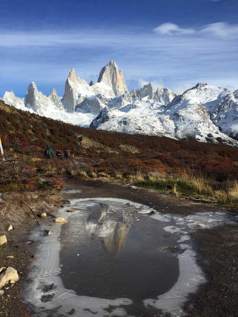 Mont FitzRoy, Patagonie, Argentine.