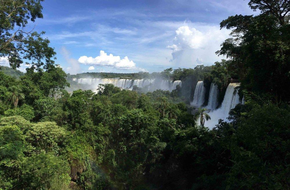 Chutes d'Iguazu, Argentine et Bresil.