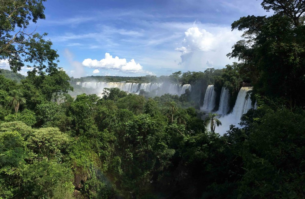 Iguazu Falls, Argentina and Brazil.
