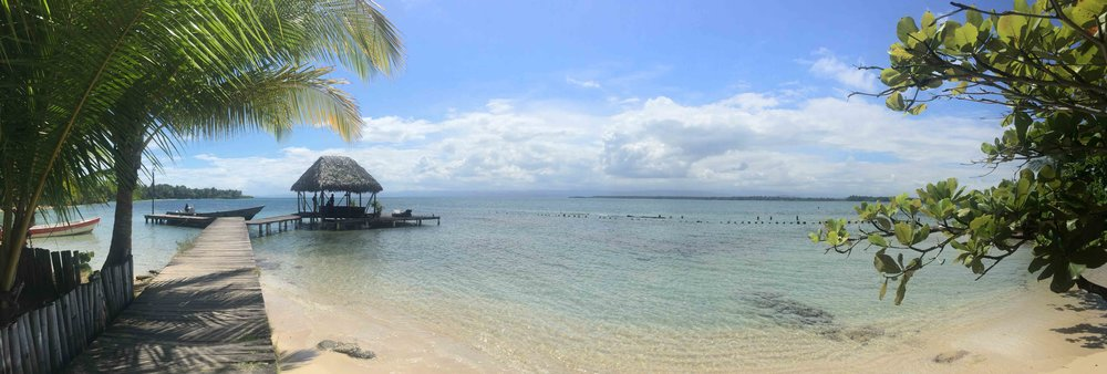 Playa estrella, Panama.