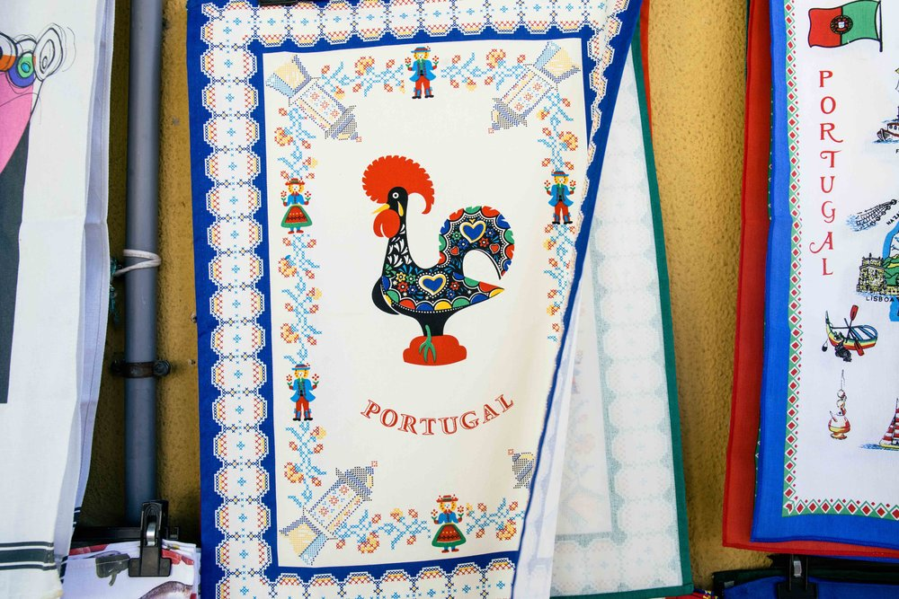 Traditional Portuguese tea towel. Photo: Marine Raynard