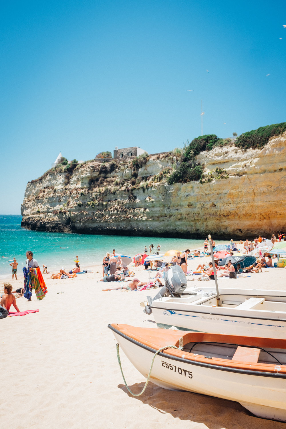 A beautiful beach in Algarve, Portugal. Photo: Marine Raynard