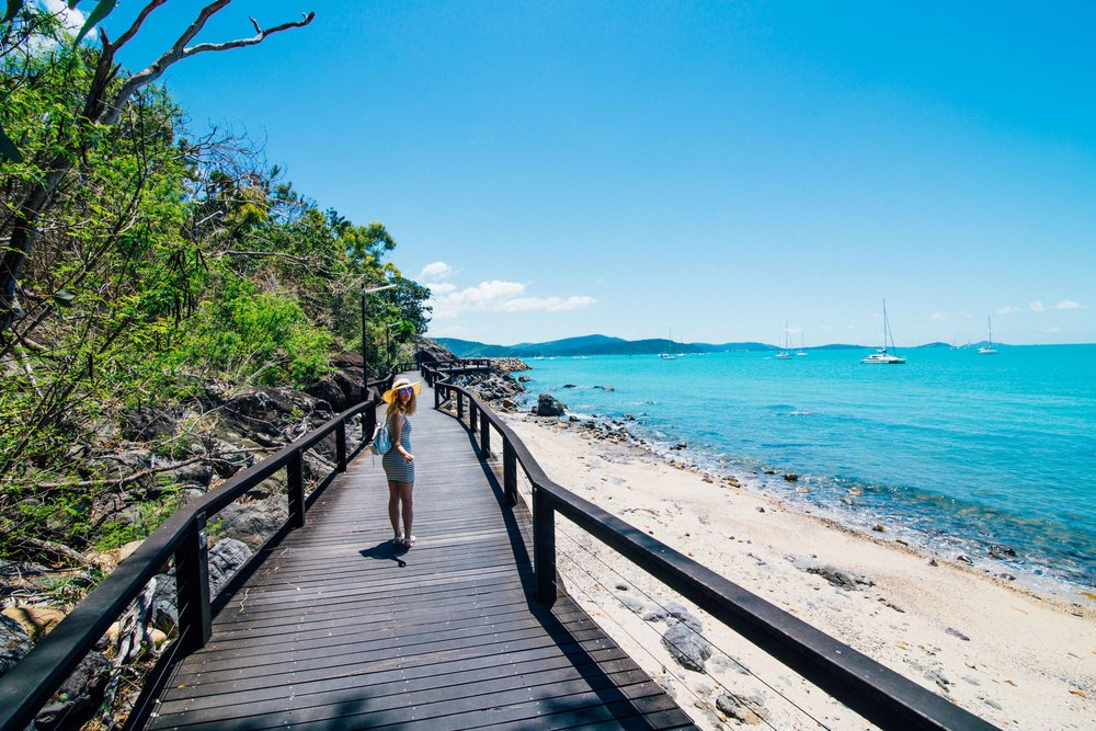 The walk from Airlie Beach to Cannonvale.