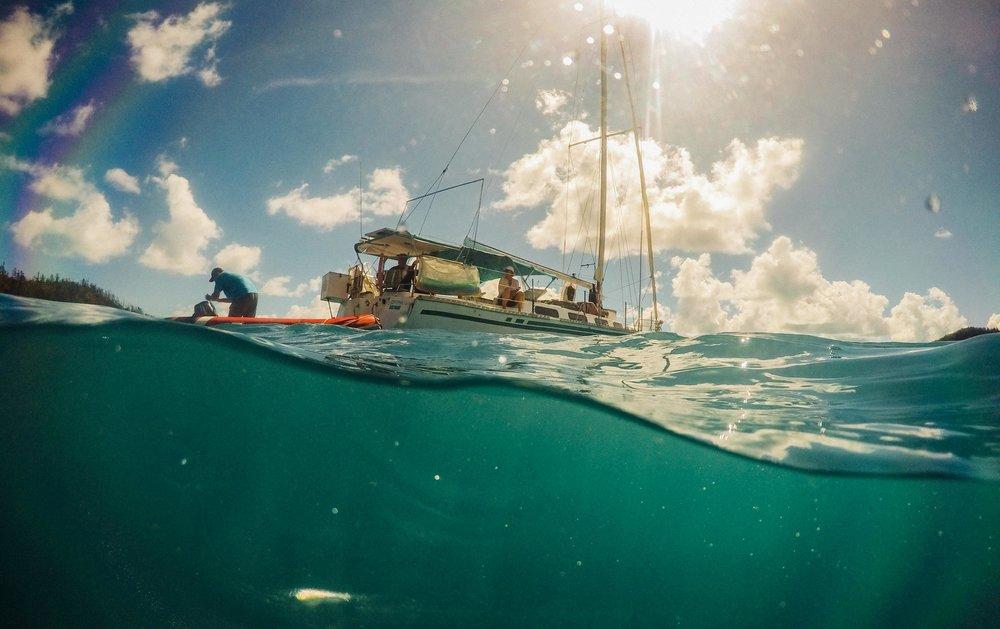 Our boat Prima