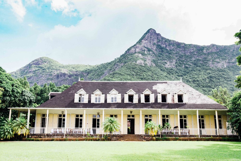 Eureka House near Black River, Mauritius.