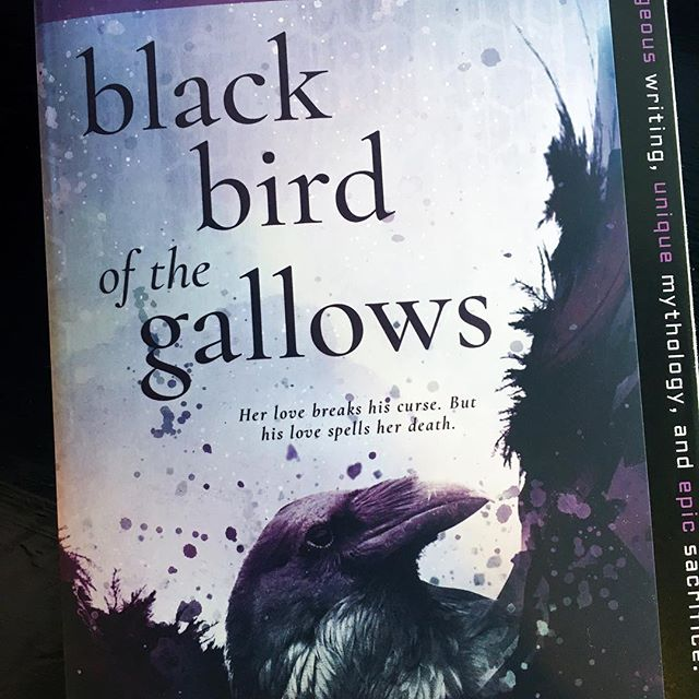 Starting this one this morning . . . . . #bookstagram #bookblogger #bookish #bibliophile #booknerd #booklover #books #bookaddict #reading #instabook #bookaholic #instabooks #blackbirdofthegallows #megkassel