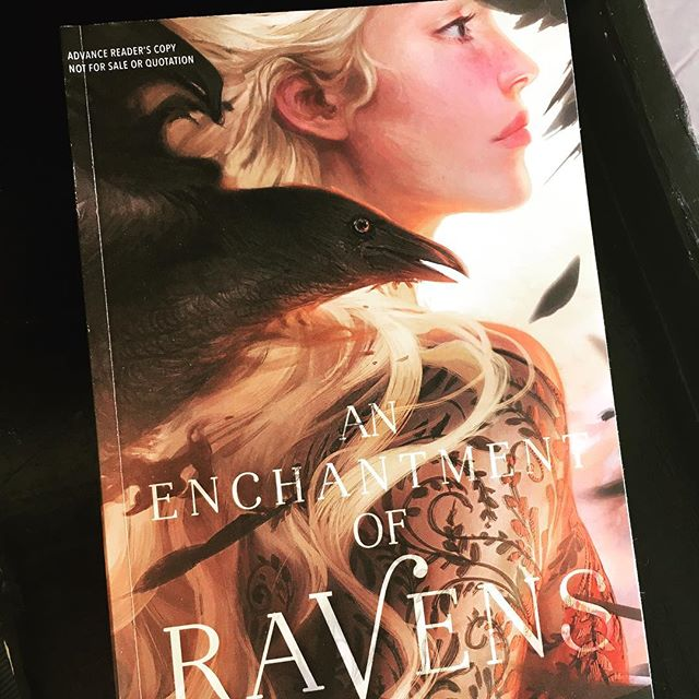 So excited I finally got an ARC of this one! Apparently I have been on a bird kick lately... . . . . . #bookstagram #bookblogger #bookish #bibliophile #booknerd #booklover #books #bookaddict #reading #instabook #bookaholic #instabooks #anenchantmentofravens #margaretrogerson #advancereaderscopy #simonandschuster #margaretkmcelderrybooks