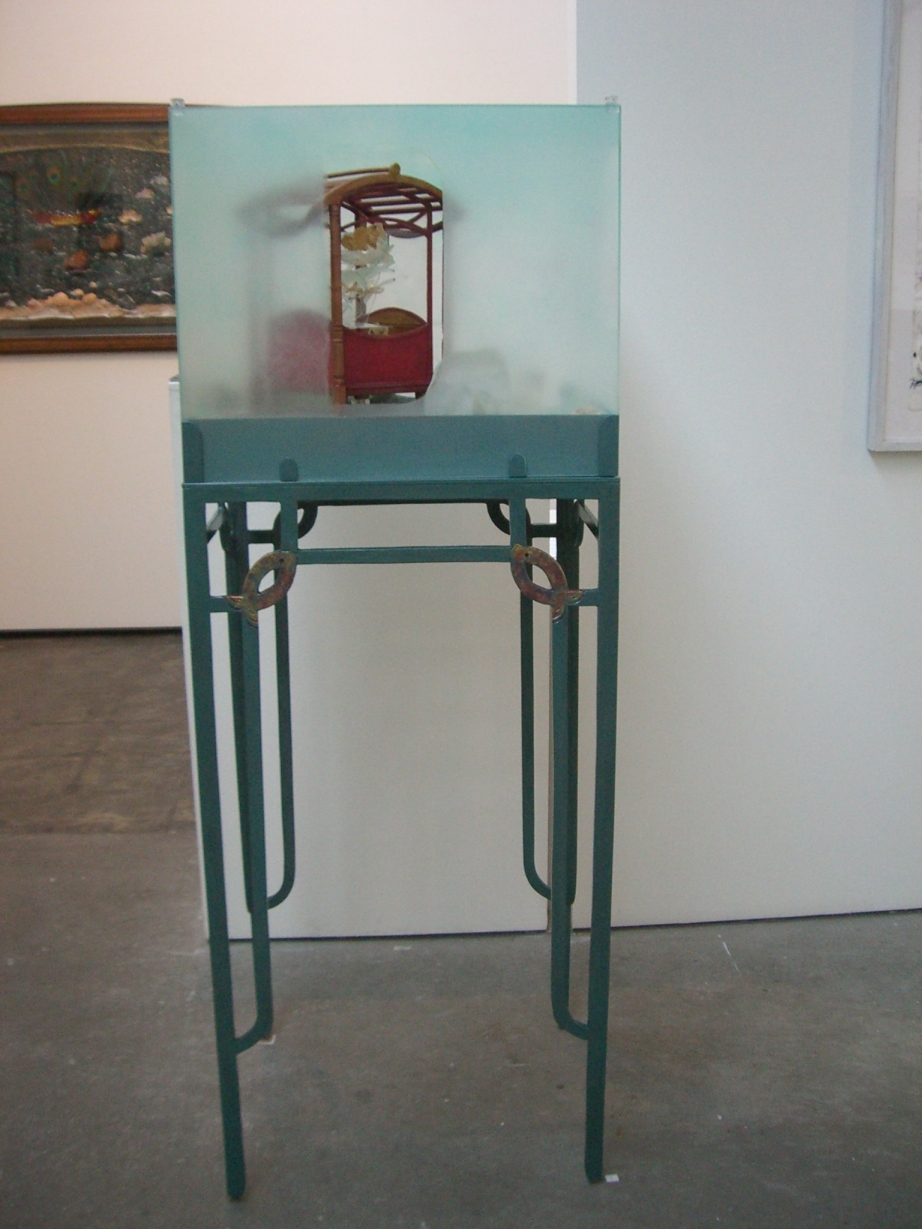 Zheng He's Memorial Garden, 2005-07, mixed media, 56 x 155 x 47 cm