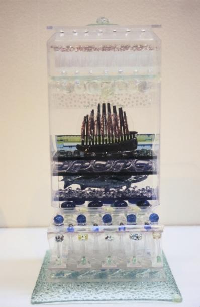 Arctic, 2007, mixed media, 28 x 15 x 15 cm
