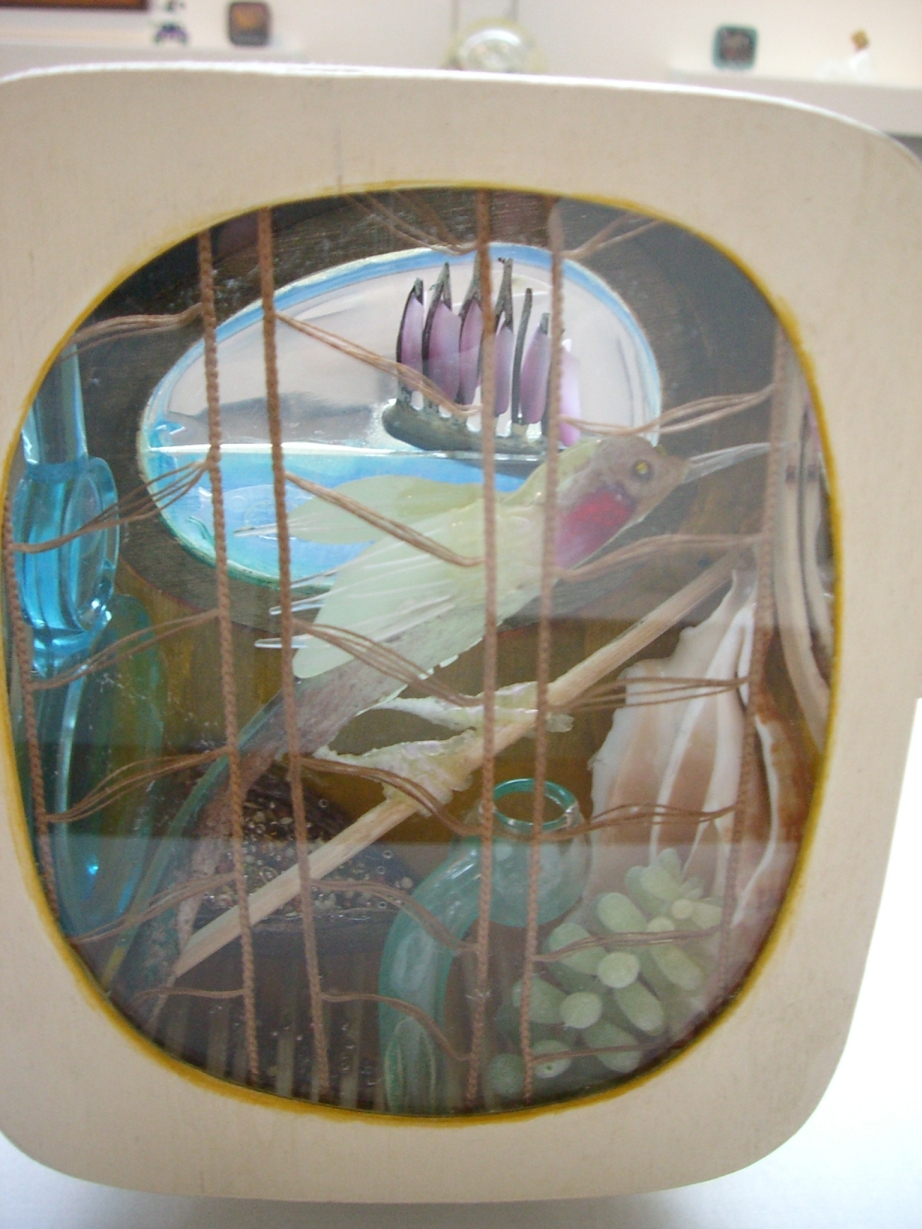 Rare Bird, 2006, mixed media, 18 x 14 x 8 cm
