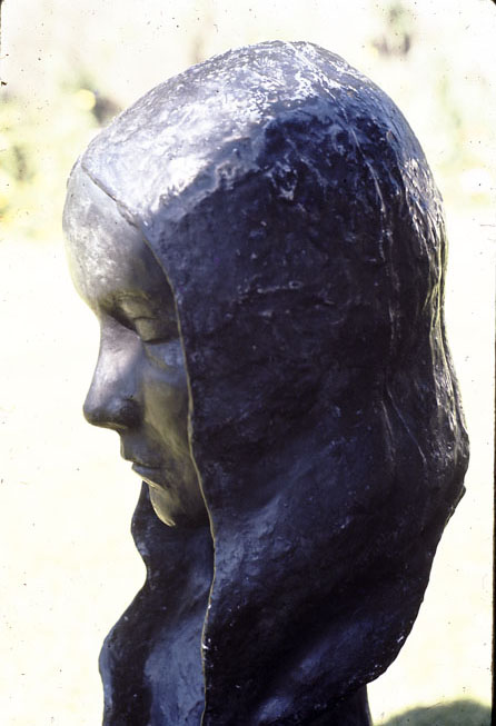 Portrait Head, 1970, plaster, approximately life size